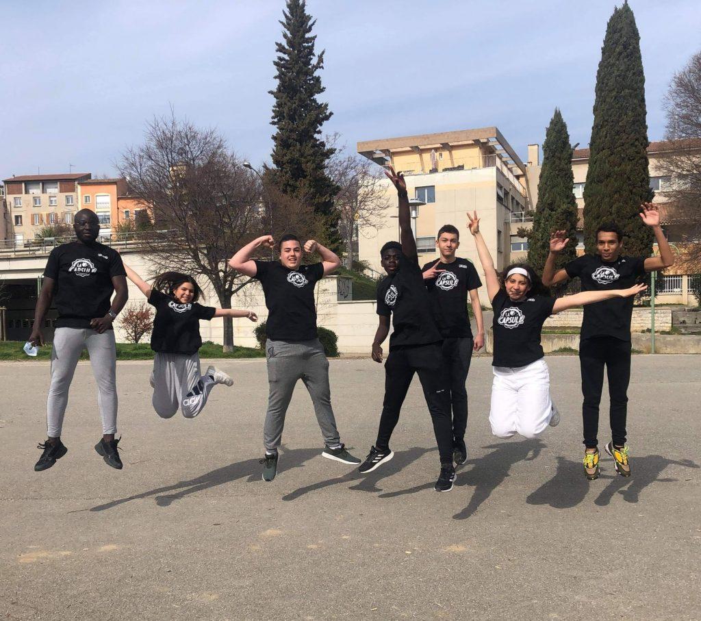 tshirts bénévoles La Capsule